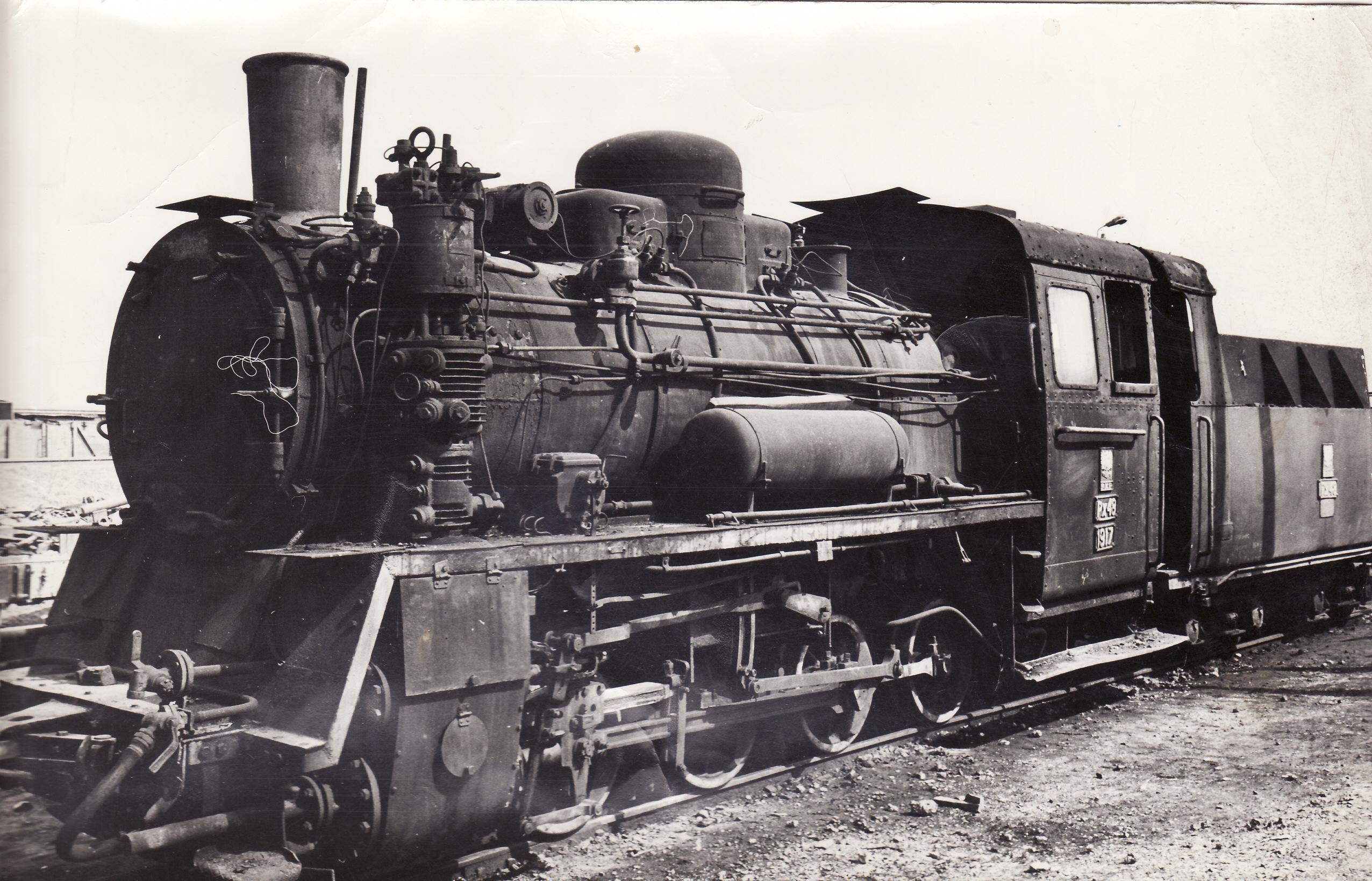 parowóz z 1979
